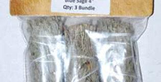 Blue Sage Smudge Stick 3pk