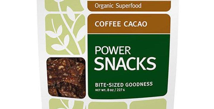 NAVITAS ORGANICS COFFEE CACAO POWER SNACKS 8 OZ.