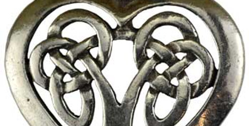 Celtic Heart Amulet