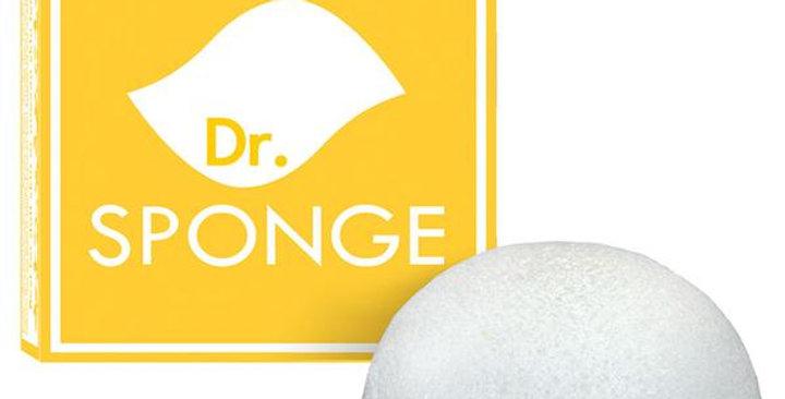 DR. SPONGE PEARL POWDER KONJAC FACIAL SPONGE 0.3 OZ.