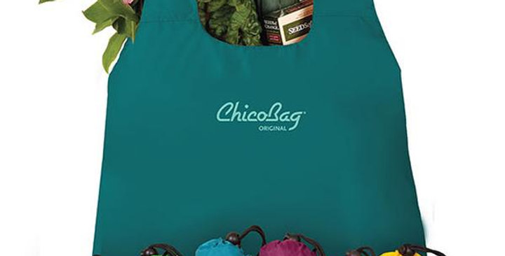 """CHICOBAG SPRING ASSORTED COLORS ORIGINAL 25 PACK REUSABLE SHOPPING BAGS 17"""" X 15"""