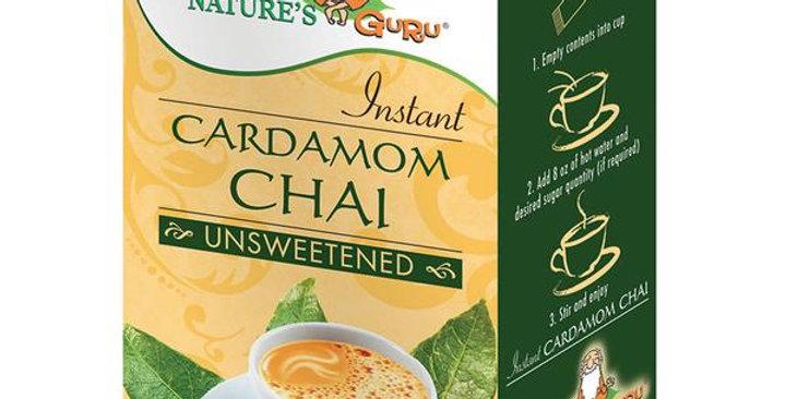 NATURE'S GURU UNSWEETENED CARDAMOM CHAI