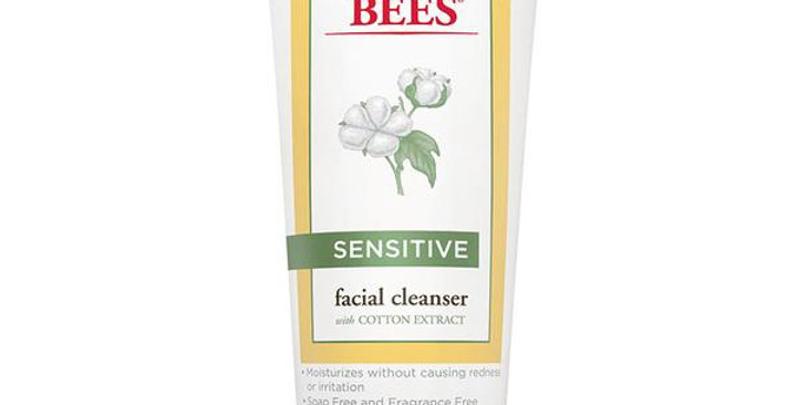 BURT'S BEES SENSITIVE FACIAL CLEANSER 6 OZ.