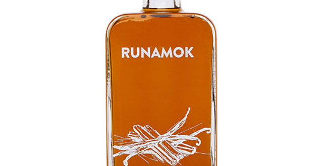 RUNAMOK MAPLE CINNAMON & VANILLA INFUSED ORGANIC MAPLE SYRUP 8.45 OZ.