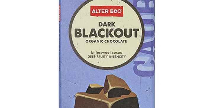 Alter Eco Organic Dark Blackout 85% Cocoa Chocolate Bar 2.82 oz.