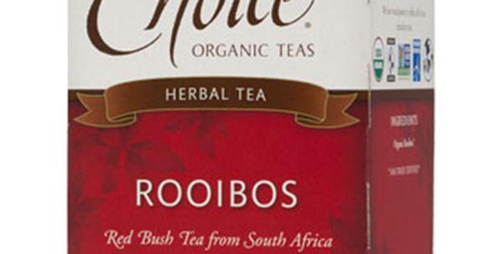 CHOICE TEAS ROOIBOS ORGANIC TEA BAGS