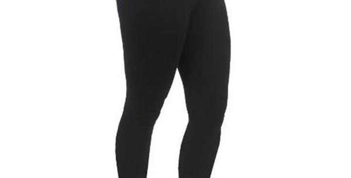 MAGGIE'S FUNCTIONAL ORGANICS BLACK FOOTLESS TIGHTS X-LARGE