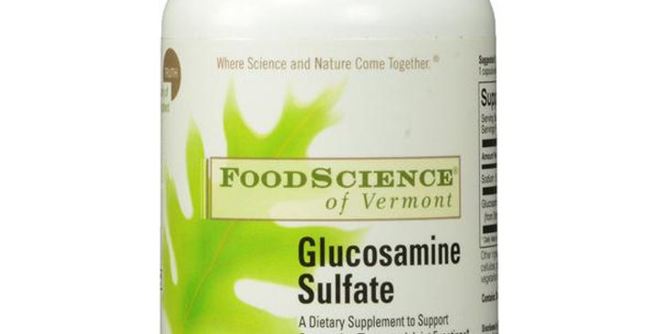 FOODSCIENCE OF VERMONT GLUCOSAMINE SULFATE 120 CAPSULES