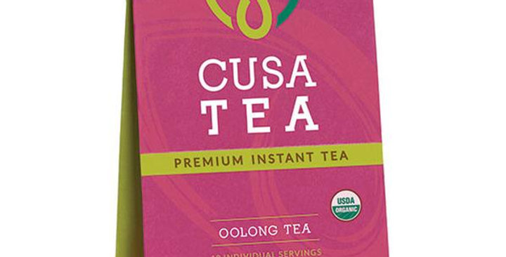 CUSA TEA ORGANIC PREMIUM INSTANT OOLONG TEA 10 (.04 OZ.) PACKETS