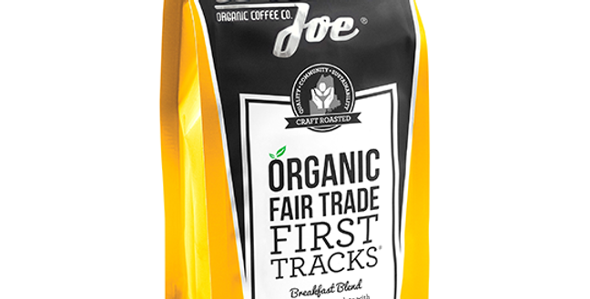 WICKED JOE COFFEE FIRST TRACKS BREAKFAST BLEND WHOLE BEAN COFFEE 12 OZ.
