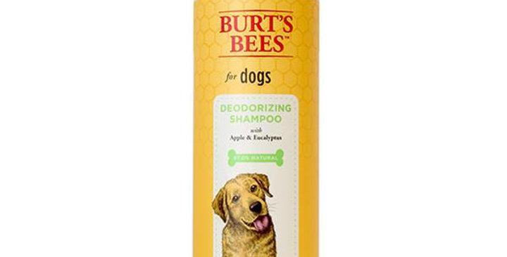 BURT'S BEES NATURAL PET CARE DEODORIZING SHAMPOO WITH APPLE AND EUCALYPTUS 16 FL