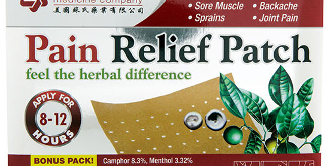 SOLSTICE PAIN RELIEF PATCHES