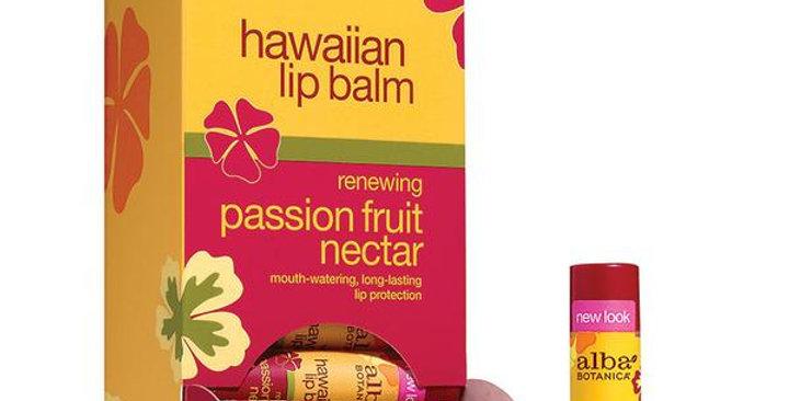 Alba Botanica Passion Fruit Nectar Lip Balm 0.15 oz.