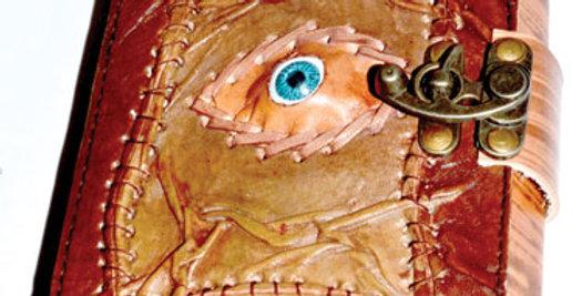 Sacred Eye Leather Blank Book w/ Latch