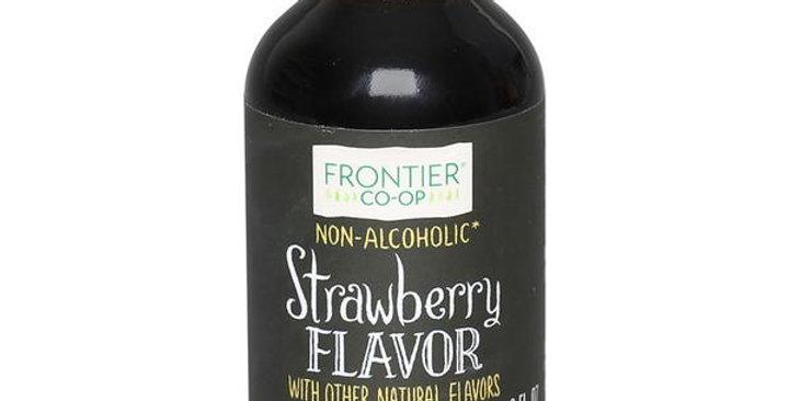 Frontier Strawberry Flavor 2 fl. oz.