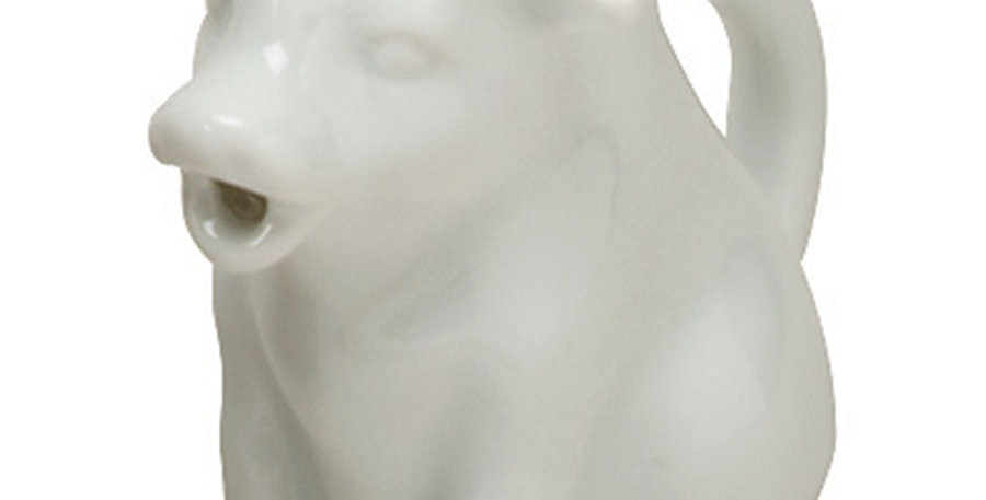 Mini Cow Creamer White 1.5 oz