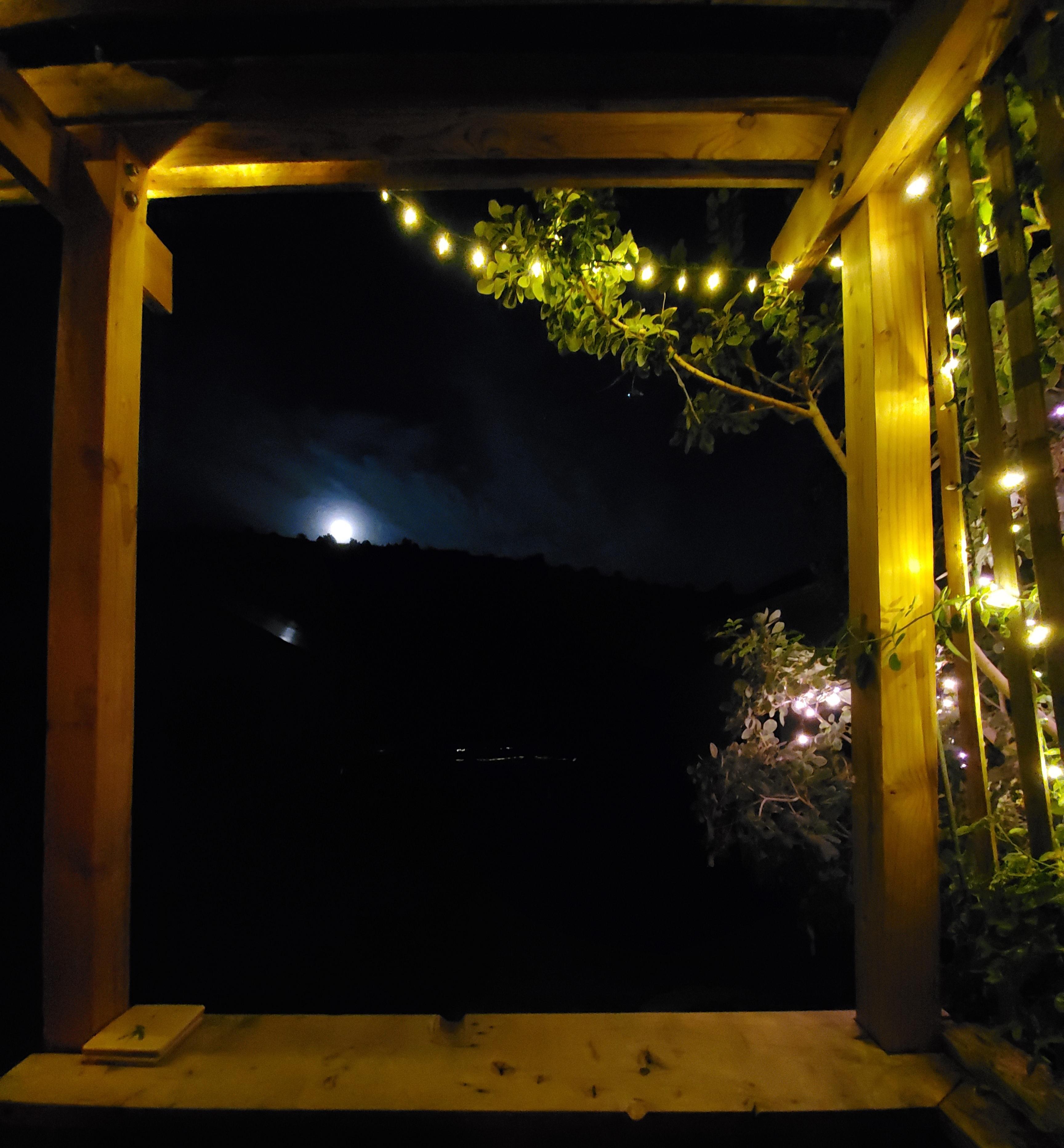 full moon veranda