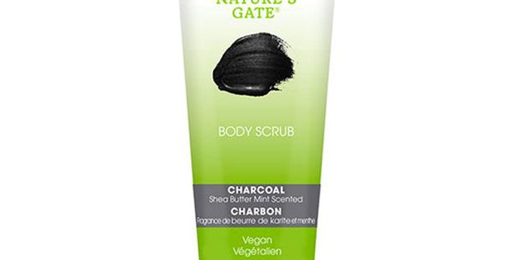 NATURE'S GATE CHARCOAL BODY SCRUB 8 OZ.