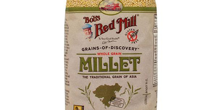 BOB'S RED MILL HULLED MILLET 4 (28 OZ.) BAGS