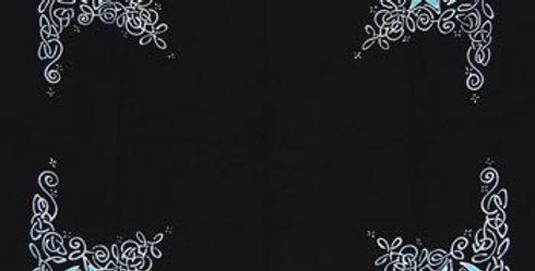 Celtic Moon Altar Cloth or Scarve