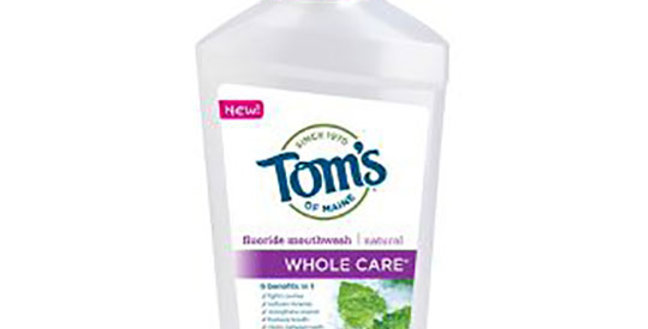 TOM'S OF MAINE WHOLE CARE ANTICAVITY FLUORIDE MOUTHWASH