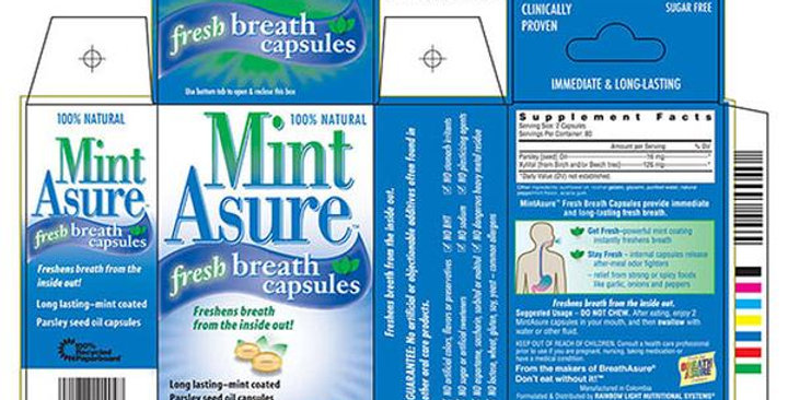 BREATHASURE MINTASSURE BREATH FRESHENERS