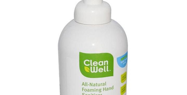 CLEANWELL ORIGINAL SCENT FOAMING HAND SANITIZER 8 FL. OZ.