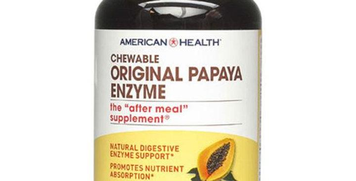 American Health Chewable Original Papaya Enzyme