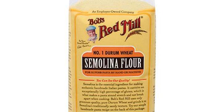BOB'S RED MILL SEMOLINA PASTA FLOUR 4 (24 OZ.) BAGS