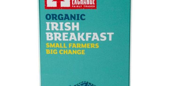 EQUAL EXCHANGE ORGANIC IRISH BREAKFAST BLEND TEA 20 TEA BAGS