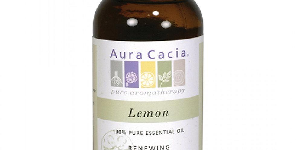 Aura Cacia Lemon Essential Oil 16 fl. oz.