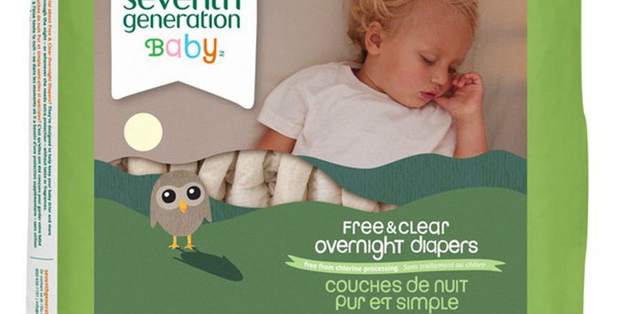 SEVENTH GENERATION STAGE 4 OVERNIGHT DIAPERS