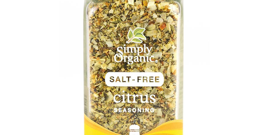 SIMPLY ORGANIC SALT-FREE CITRUS SEASONING