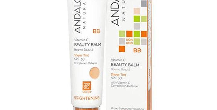 Andalou Naturals Vitam C BB Beauty Balm Sheer Tint SPF 30 2 fl. oz.