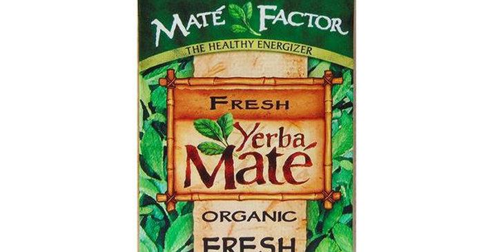 MATÉ FACTOR ORIGINAL FRESH GREEN LOOSE LEAF YERBA MATE TEA 12 OZ.