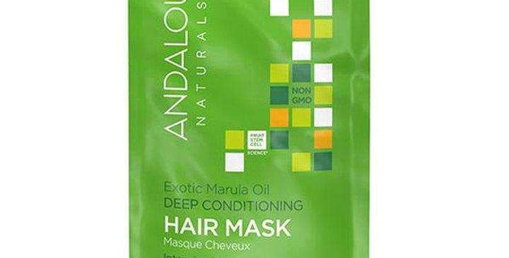 Andalou Naturals Exotic Marula Oil Silky Smooth Deep Conditioning Hair Mask 1.5