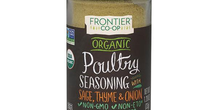 Frontier Organic Poultry Seasoning 1.20 oz.