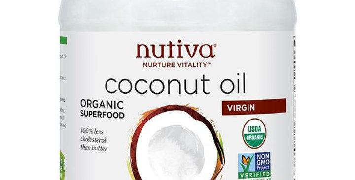 NUTIVA VIRGIN COCONUT OIL 54 OZ.