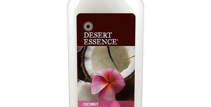 DESERT ESSENCE COCONUT SHINE & REFINE HAIR LOTION 6.4 FL. OZ.
