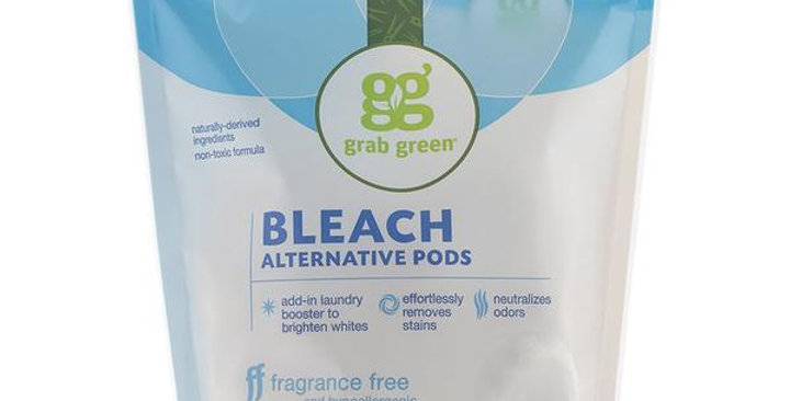 GRAB GREEN BLEACH ALTERNATIVE 3-IN-1 LAUNDRY DETERGENT PODS 24 LOADS