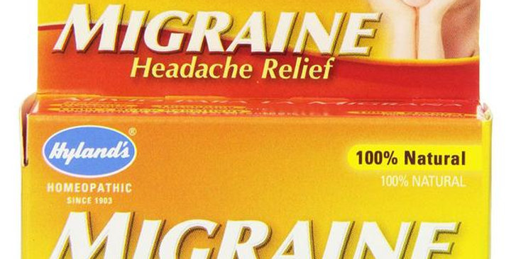 HYLAND'S MIGRAINE HEADACHE RELIEF 60 TABLETS