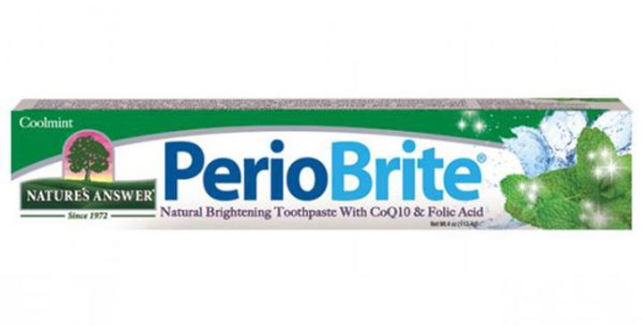 NATURE'S ANSWER COOL MINT PERIOBRITE TOOTHPASTE 4 OZ.