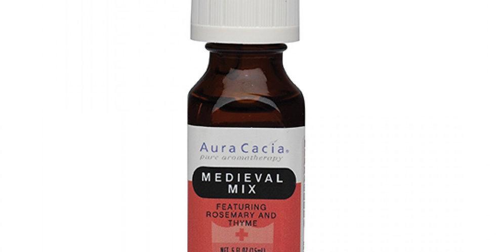 Aura Cacia Medieval Mix Essential Oil 0.5 fl. oz.
