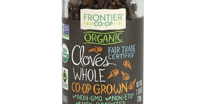 Frontier Organic Fair Trade Certified Hand Select Whole Cloves 1.38 oz.