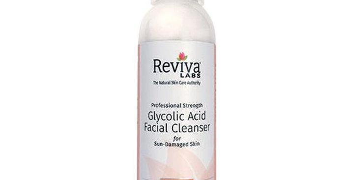 REVIVA LABS GLYCOLIC ACID CLEANSER 4 FL. OZ.