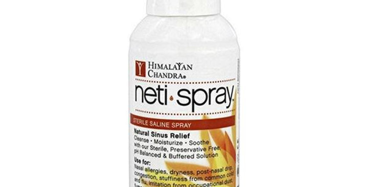 HIMALAYAN CHANDRA NASAL CARE SALINE NETI SPRAY 4.2 FL. OZ.