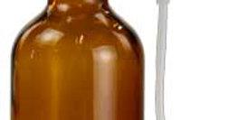 Amber Bottle with Sprayer