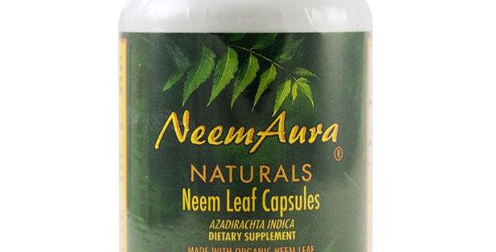 NEEMAURA NATURALS NEEM LEAF VEGICAPS