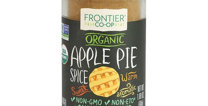 Frontier Organic Apple Pie Spice 1.69 oz.
