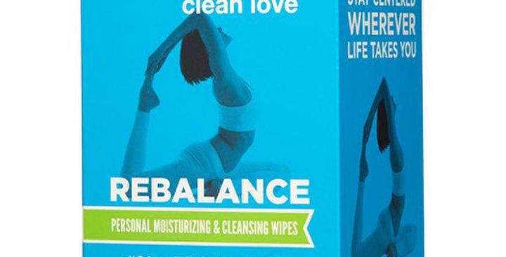 GOOD CLEAN LOVE REBALANCE PLEASURE WIPES 12 WIPES